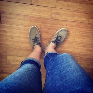 Jeans. WITH zipper. Winning.